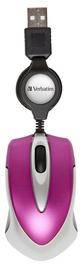 Verbatim Go Mini Optical Travel Mouse Pink