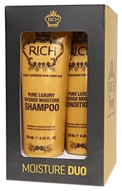 Rich Moisture 250ml Shampoo + 250ml Conditioner