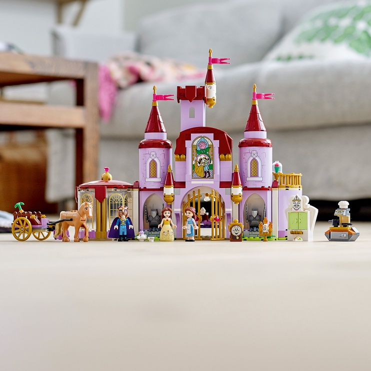 Конструктор LEGO Disney Belle And The Beasts Castle 43196, 505 шт.