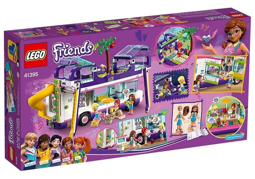 Конструктор LEGO Friends Friendship Bus 41395, 778 шт.