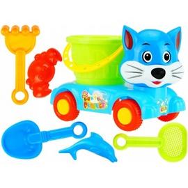 Набор игрушек для песочницы Fox And Toy Set, многоцветный, 7 шт.
