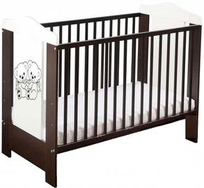 Minikid Ella Baby Bed 109 Venge/White Bears