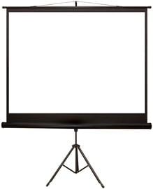 4World Tripod Projector Screen 203x152 Matt White