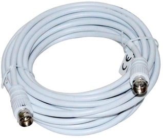 Vakoss Cable Coax to Coax White 5m