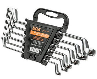 Ega Offset Ring Spanners Set 8pcs