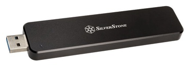 SilverStone External Enclosure MS09 M.2 SSD Black