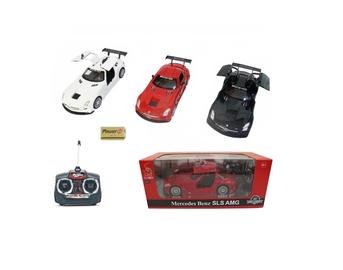 Žaislinė mašina Mercedes, raudona, balta, juoda
