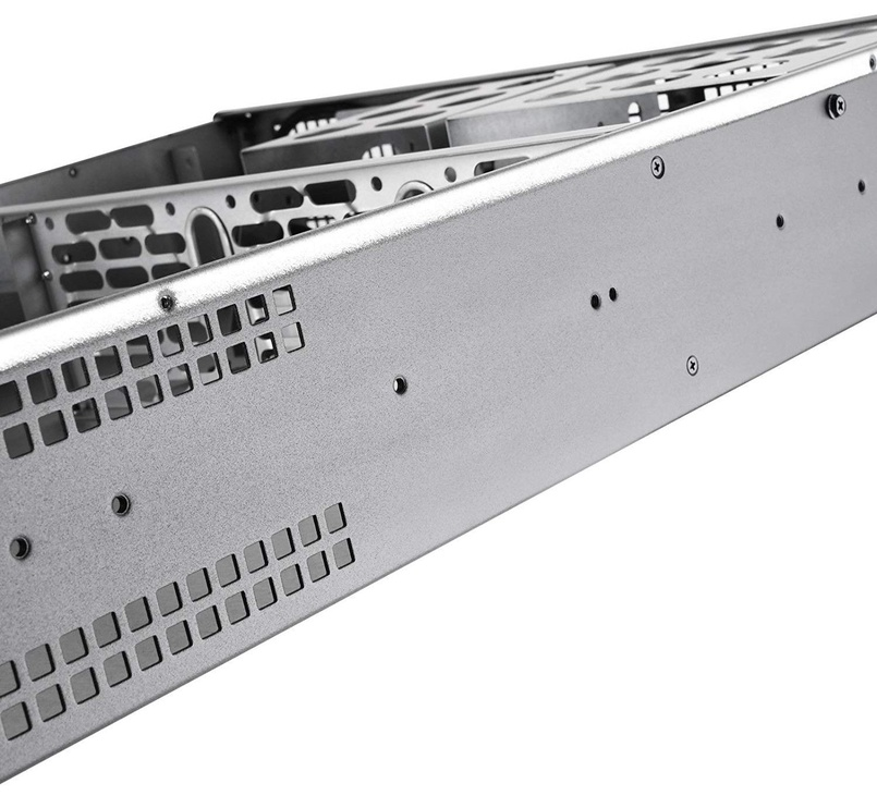 SilverStone Server Case RM201 2U Black