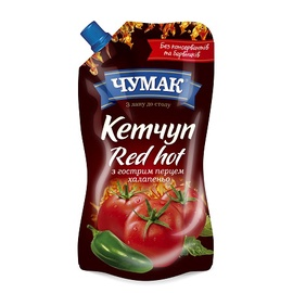 Kečupas CHUMAK Ketchup Red Hot 250 g