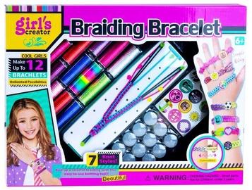 Aproces izgatavošanas komplekts Girls Creator Braiding Bracelet