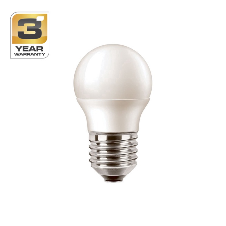 SPULDZE LED P45 6W E27 WW FR ND 470LM (STANDART)