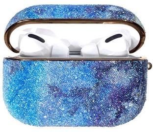 Kingxbar Rainbow Shiny Glitter Case For Apple AirPods Pro Blue