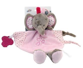 Axiom Cuddly Milus Elephant Pink 25cm