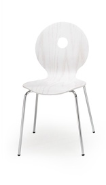 Svetainės kėdė K233, balta