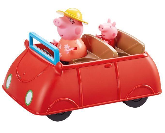 TM Toys Peppa Pig Peppas Big Red Car