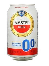 Nealkoholinis alus Amstel 0.0%, 0,33 l