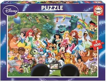 Educa Borras Puzzle The Marvellous World Of Disney II 1000pcs