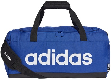 Rokassoma Adidas Linear Logo Duffel Bag S GE1149, zila