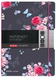 Herlitz Note Book My Book Flex A4/40+40 Ladylike Flowers