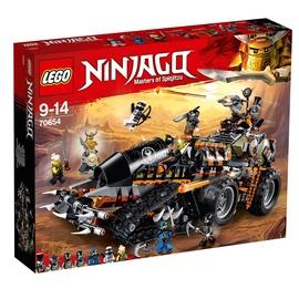 MÄNGUKLOTSID LEGO BLOCS NINJAGO 70654