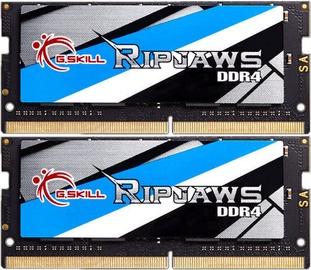 Operatīvā atmiņa (RAM) G.SKILL RipJaws F4-2400C16D-8GRS DDR4 (SO-DIMM) 8 GB