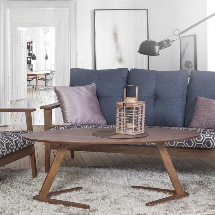 Home4you Coffee Table Lana Walnut 20873