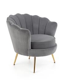 Atzveltnes krēsls Halmar Amorinito Grey, 83x77x77 cm