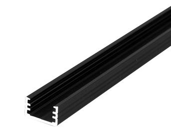 Profiil Topmet Slim 2 m, must, alumiinium