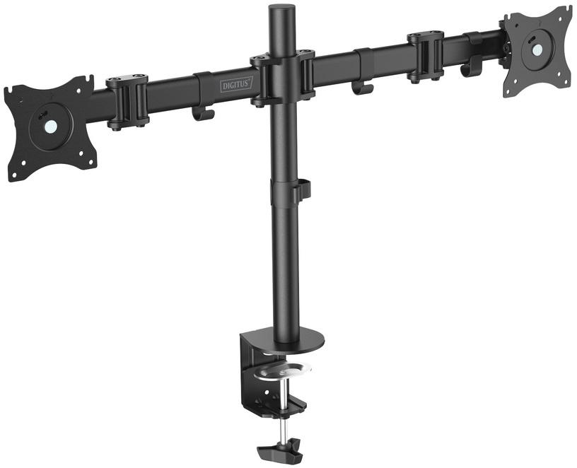 Televizoriaus laikiklis Digitus Mount Monitor Stand 2x LCD Max 27''