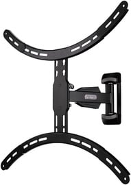Televizoriaus laikiklis Hama 118631 FullMotion TV Wall Bracket 1star XL Black
