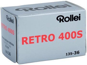 Rollei Retro 400S Black And White Negative Film 35mm Roll