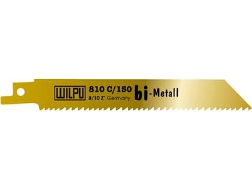 Tiesinio pjūklo pjūklelių komplektas Wilpu, 810C/225, 5 vnt.