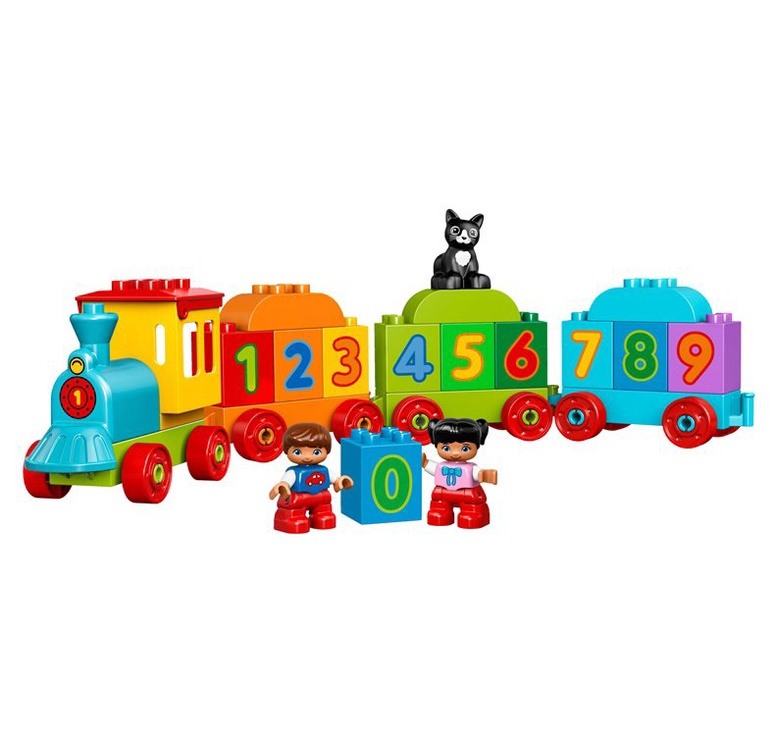 Konstruktorius LEGO® My First 10847 Skaičių traukinys
