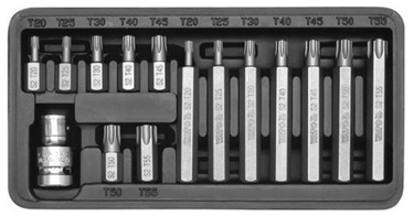 Yato YT-0411 Screwdriver Bit Set Torx 15pcs
