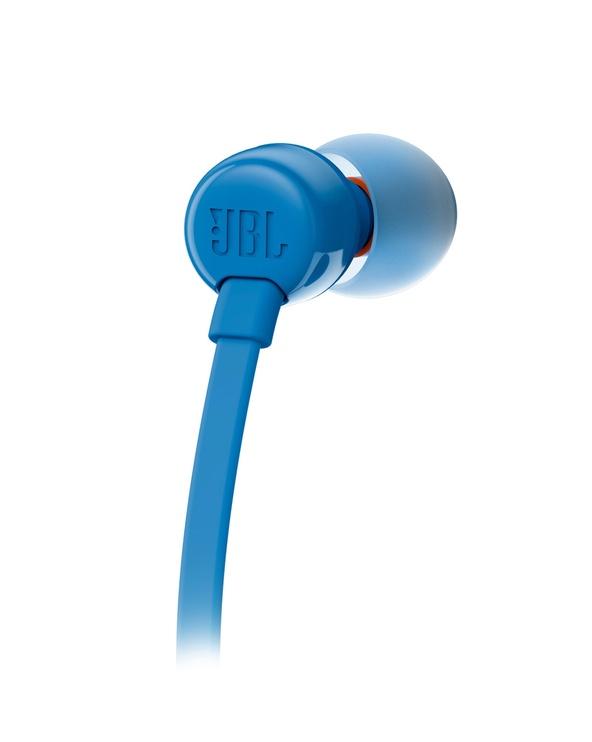 Ausinės JBL T110 Blue