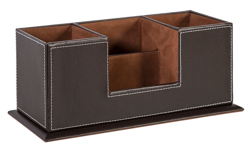 Home4you Walter Pen Holder Brown