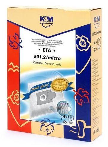 K&M Vacuum Cleaner 4 Bags + 2 Microfilters