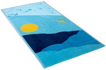 Rätik DecoKing Ocean, sinine, 180 cm x 90 cm