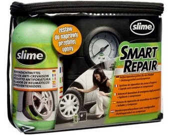 Slime Car Compressor + Slime Smart Repair 473ml