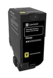 Lexmark 74C2HY0 Return Program Toner Cartridge Yellow