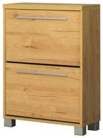 Bodzio Shoe Cabinet Panama PA60 Dark Sonoma Oak