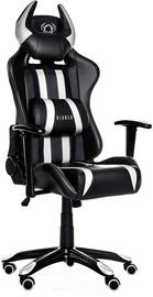 Žaidimų kėdė Diablo X-One Horn Black/White