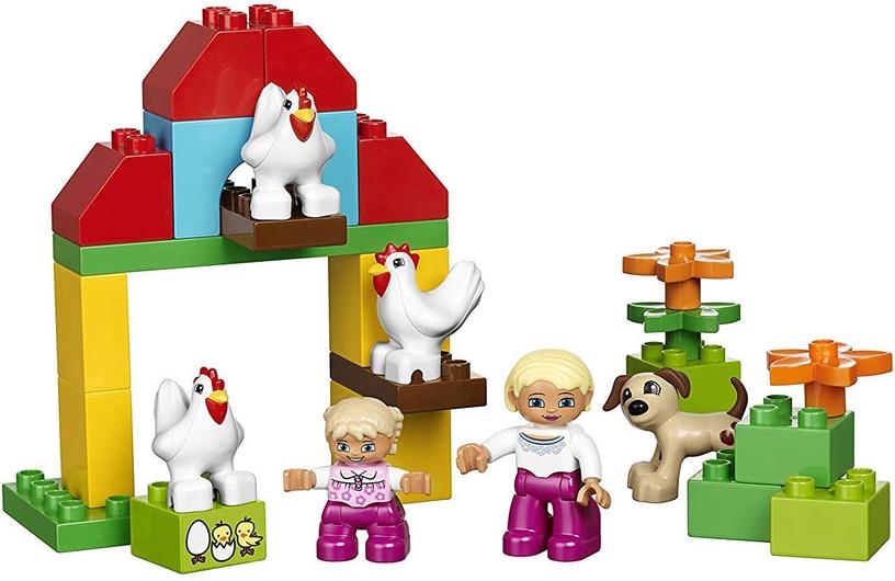 Конструктор LEGO Education Duplo Large Farm Set 45007 45007, 154 шт.