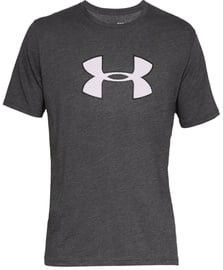 Under Armour Mens Big Logo T-Shirt 1329583 019 Grey S