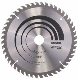 Bosch Professional 2608640727 Circular Saw Blade Optiline Wood 235x30mm