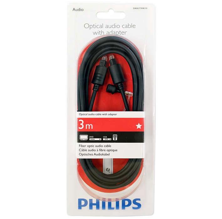 Kaabel optinis 1.5m Philips SWA2778W/10