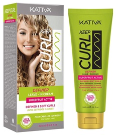Kativa Keep Curl Definer Leave-in Cream 200ml