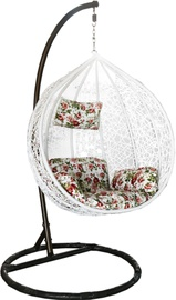 Besk Standing Bubble Chair With Pillow 950mm White