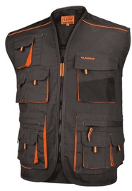 Art.Master Classic Work Vest Grey/Orange 56