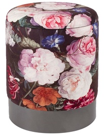 Pufas Home4you Porta Peonies, 35x35x44 cm